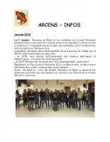 ArcensInfo 1 trimestre 2018