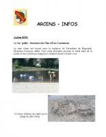 ArcensInfo 3 trimestre 2018
