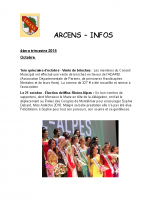 Arcens Info 4 trimestre 2018