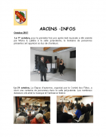 Arcens info 4 eme trimetre 2017